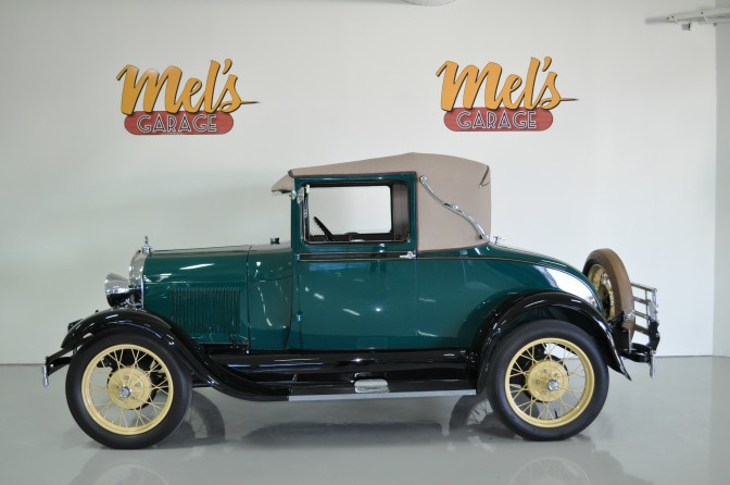 A ford sport coupe 1929 s ld mel 39 s garage for Garage ford belley 01