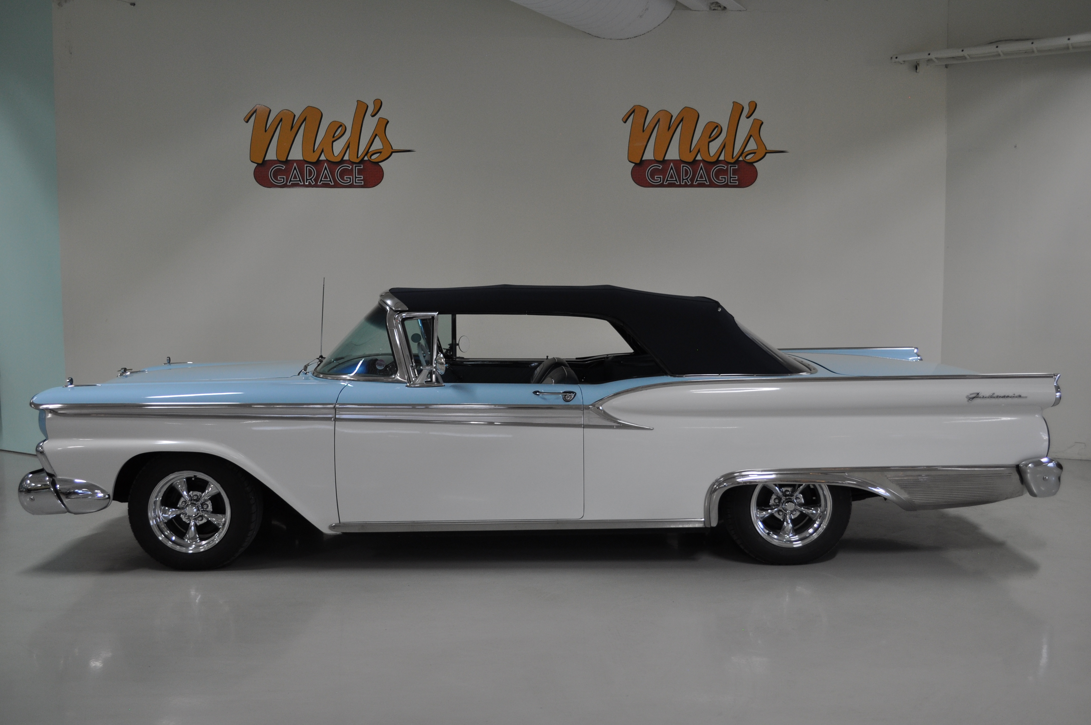 ford galaxie sunliner cabriolet 1959 s ld mel 39 s garage classic cars coffee shop. Black Bedroom Furniture Sets. Home Design Ideas