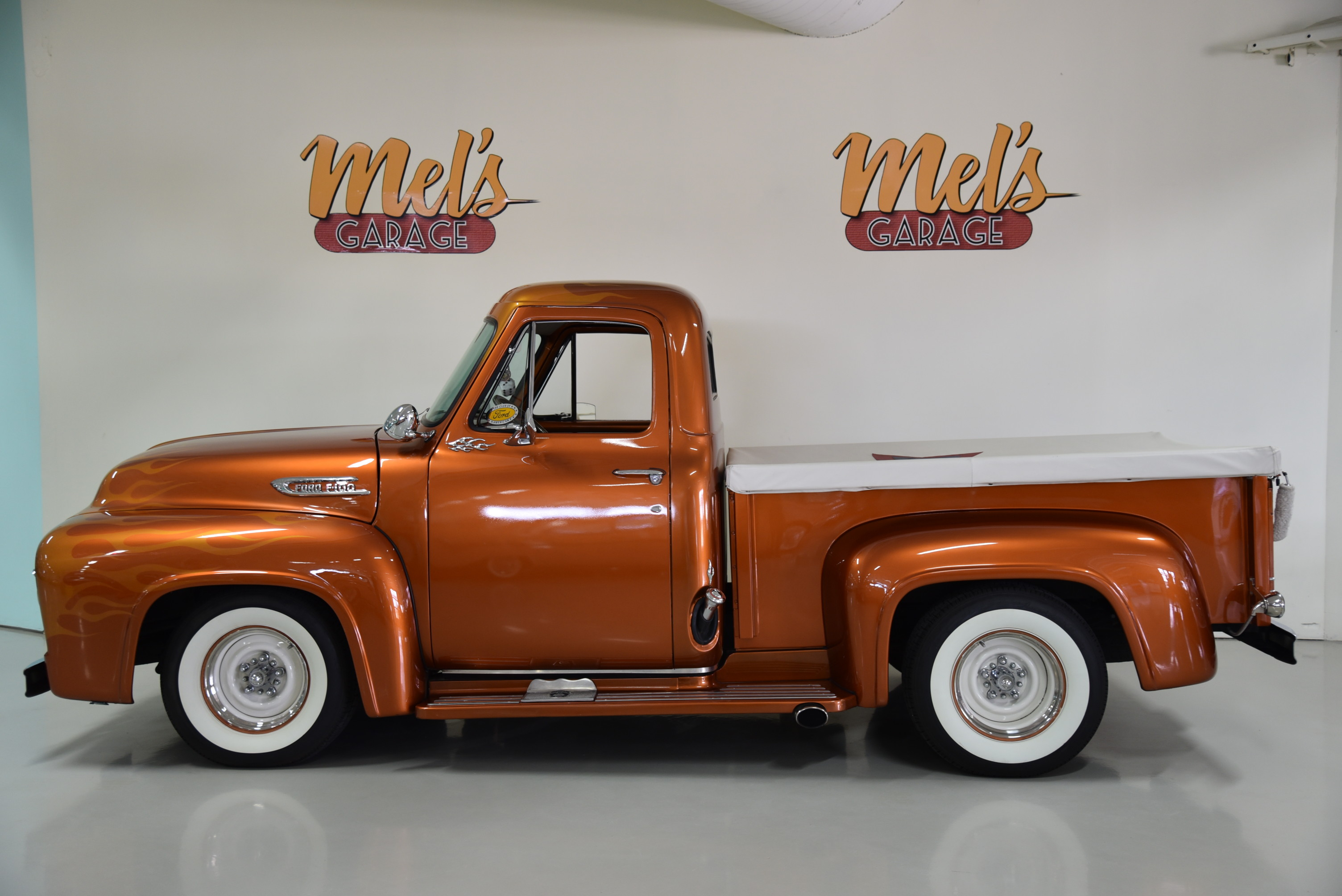 Ford f100 1 2 ton pickup 1954 s ld mel 39 s garage for Garage ford belley 01