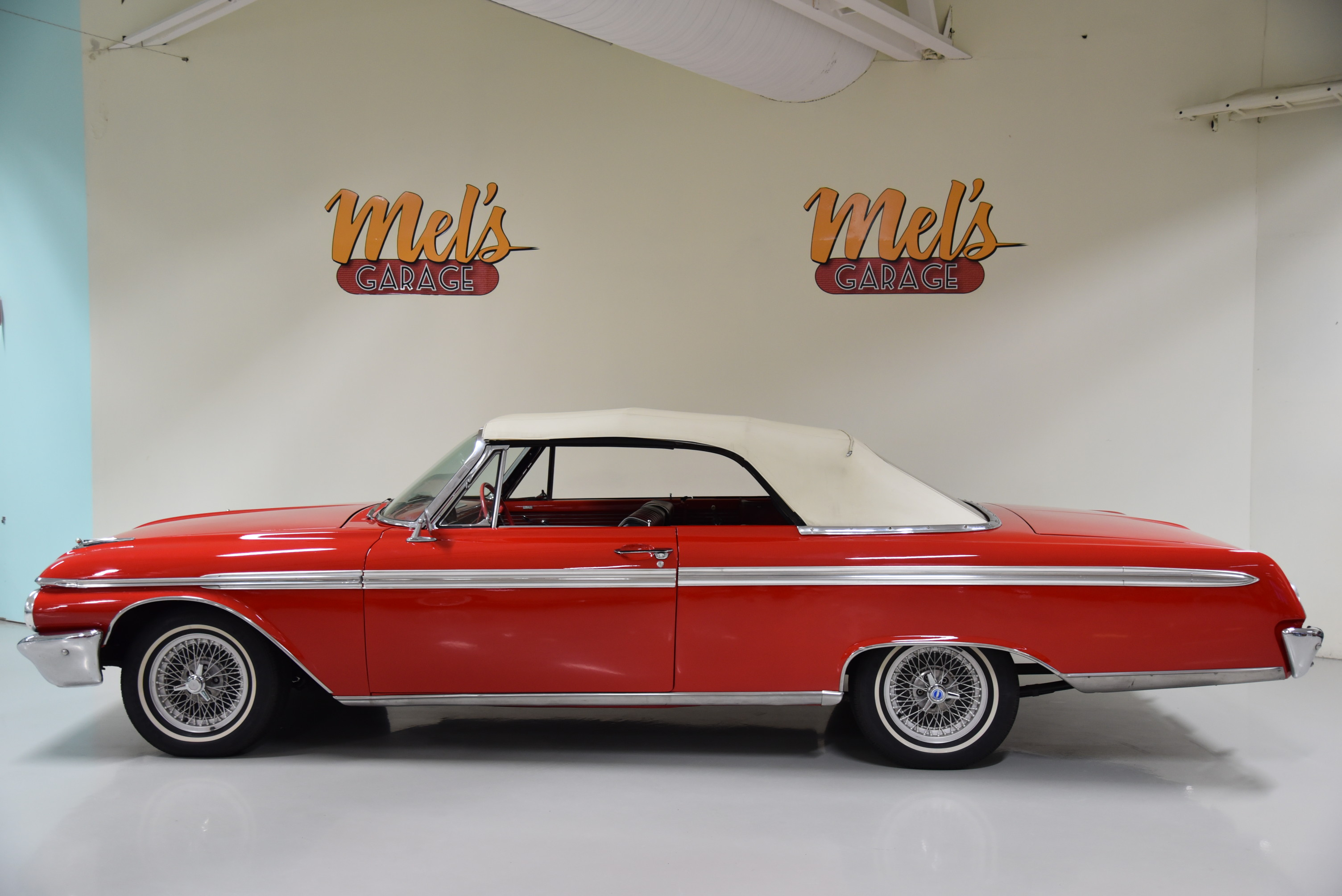 Ford Galaxie 500 Sunliner Convertible 1962 S 197 Ld Mel S
