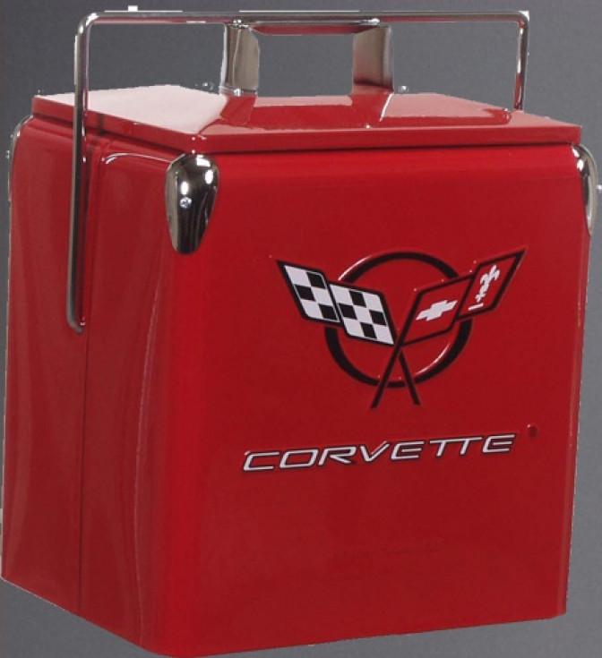 Picnic Cooler Corvette-röd