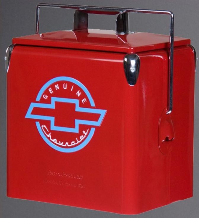 Picnic Cooler Chevrolet-röd
