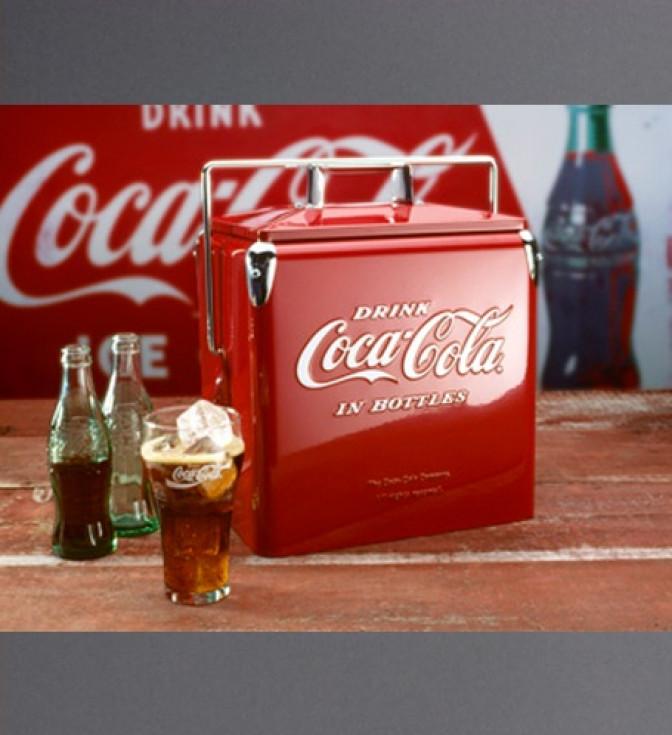 Coca-Cola Picnic Cooler-röd