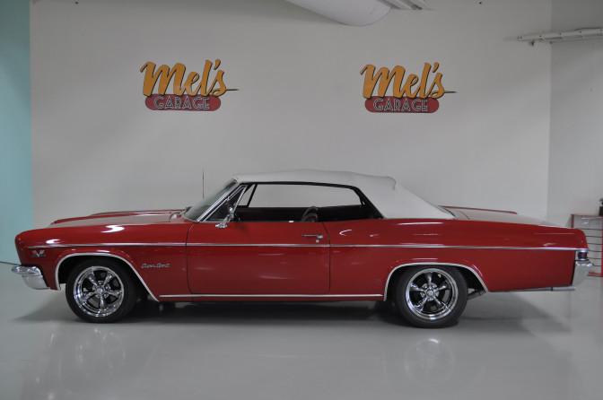 Chevrolet Impala SS Convertible 1966-SÅLD!