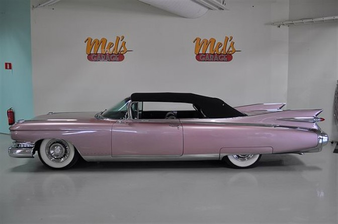 Cadillac Eldorado Biarritz Convertible 1959-SÅLD!