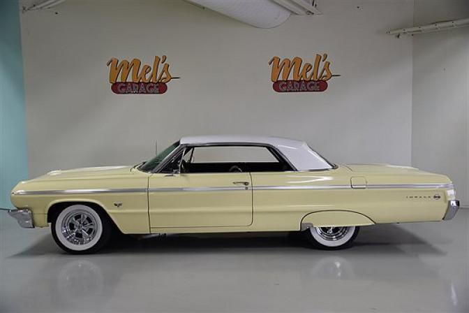 Chevrolet Impala SS 2-dr Coupe 1964-SÅLD!