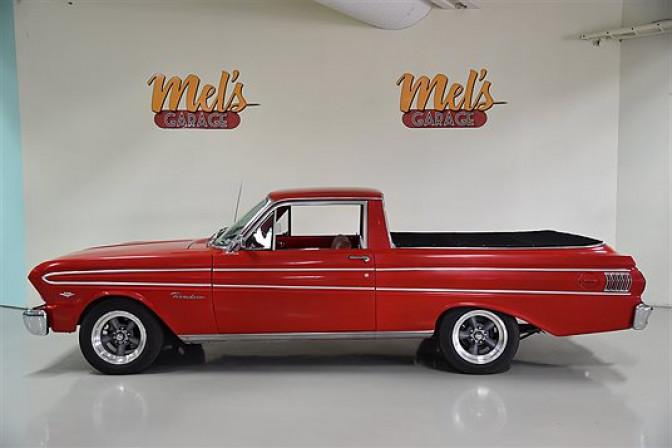Ford Falcon Deluxe Ranchero 1965-SÅLD!