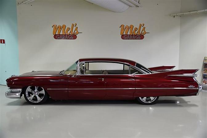 Cadillac Sedan De Ville 4-dr ht 1959-SÅLD!