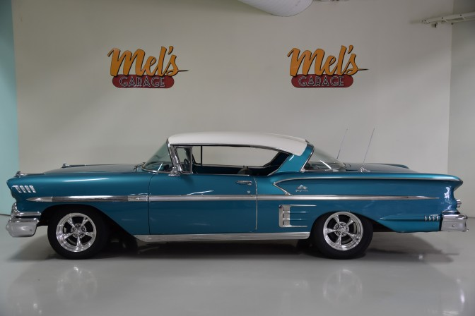 Chevrolet Impala 2-dr HT Sport Coupe 1958-SÅLD!