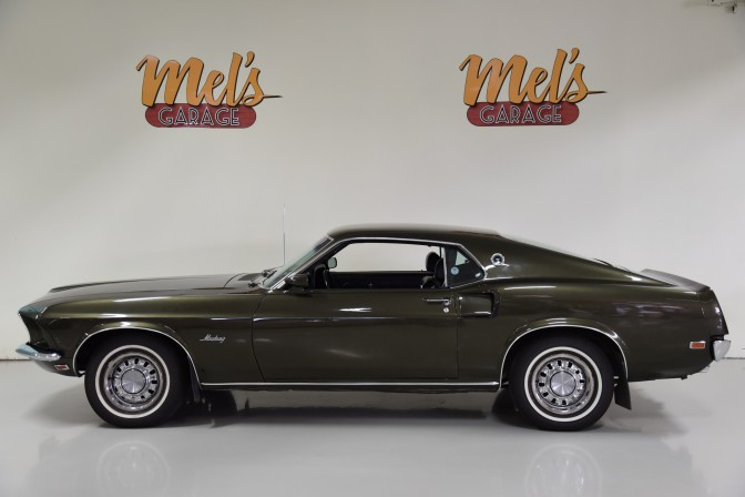 Ford Mustang Fastback Coupe 63A 1969-SÅLD!