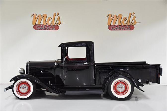 Ford Pickup 1932-SÅLD!