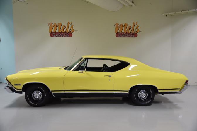 Chevrolet Chevelle SS Sport Coupe 396 L78 1968-SÅLD!
