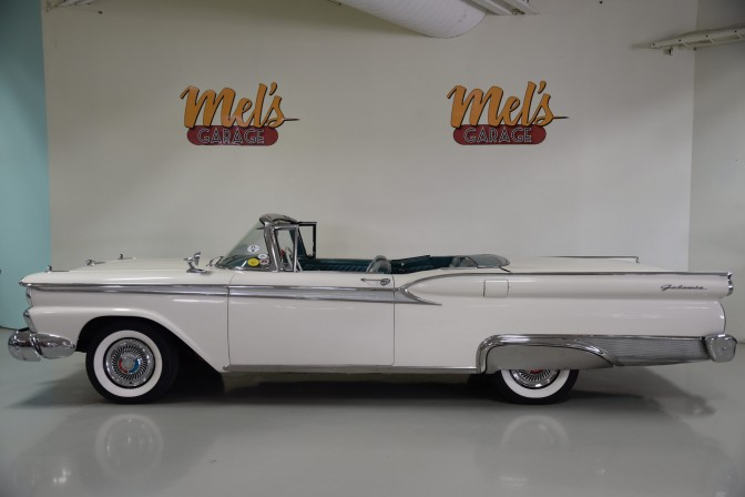Ford Galaxie Skyliner 2 door Retractable Coupe 1959-SÅLD!