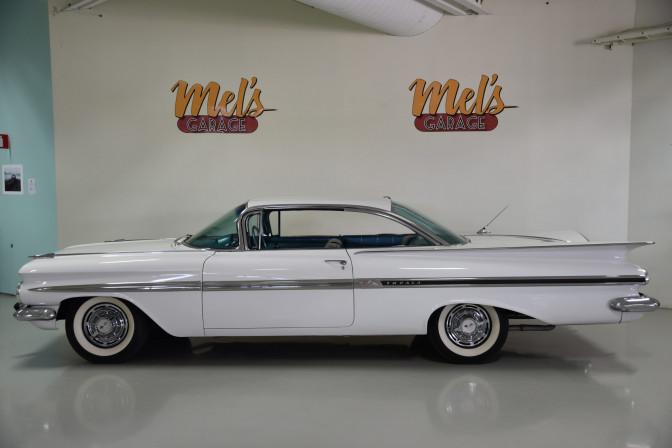 Chevrolet Impala 2-dr Hardtop Sport Coupe 1959-SÅLD!