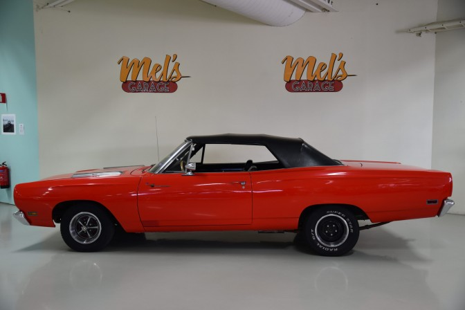 Plymouth Road Runner Convertible 1969 RM27H bil-SÅLD!