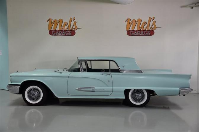 Ford Thunderbird 2-dr hardtop 1959-SÅLD!