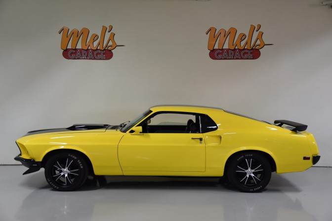 Ford Mustang Fastback Pro Touring 1969-SÅLD!
