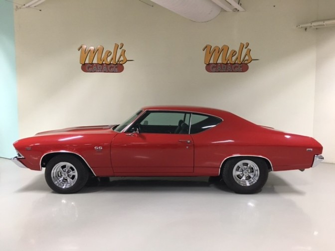 Chevrolet Chevelle Malibu 1969-SÅLD!