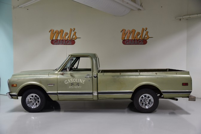 GMC 1500 Custom Wide Side Pickup 1/2 ton 1969-SÅLD!