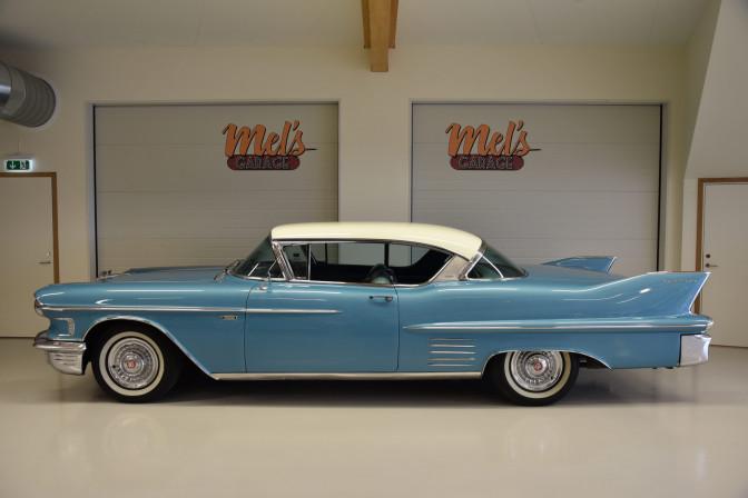 Cadillac Serie 62 2-dr ht Coupe 1958-SÅLD!