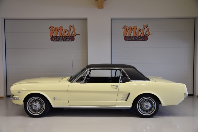 Ford Mustang HT Coupe 65B 1966-SÅLD!