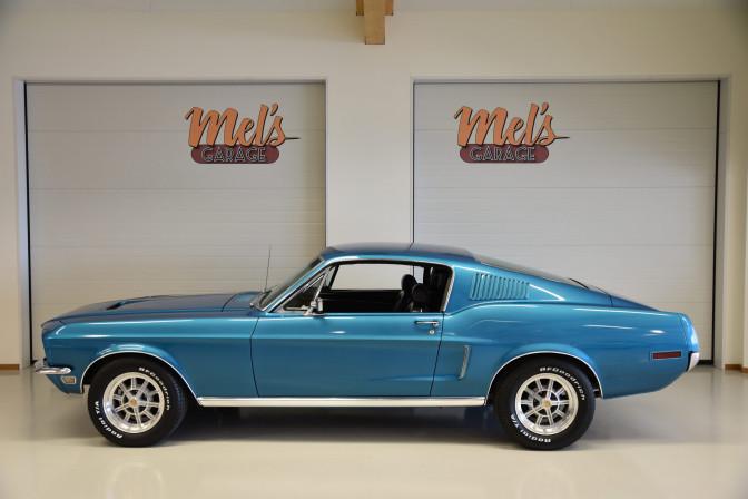 Ford Mustang 2+2 Fastback 1968-SÅLD