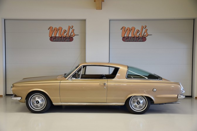 Plymouth Barracuda 2-dr Fastback Coupe 1965-SÅLD!