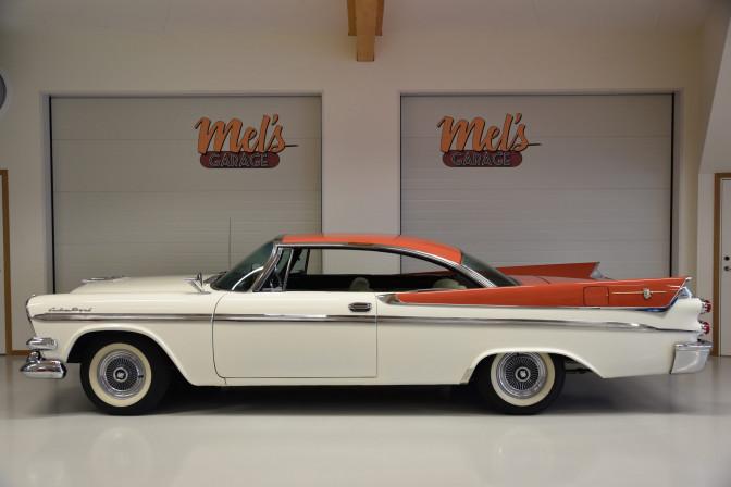 Dodge Custom Royal 2-dr HT 1958-SÅLD!
