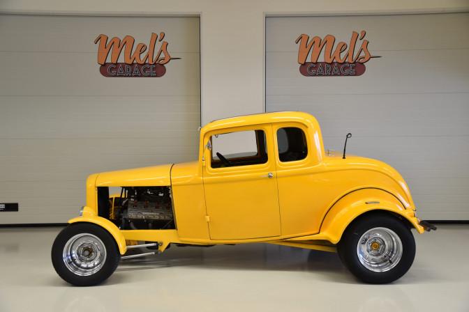 Ford 5-W Coupe 1932-SÅLD!