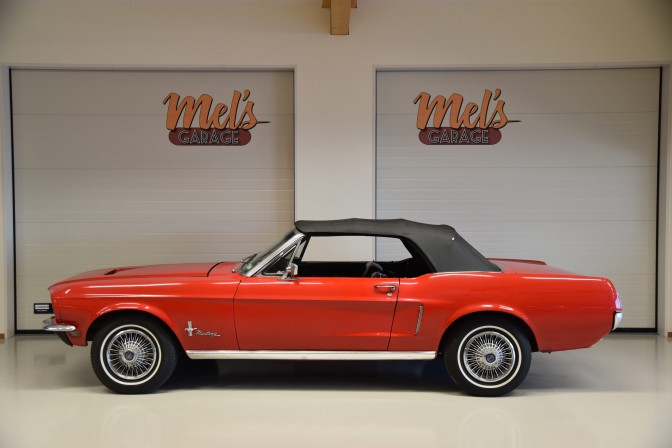 Ford Mustang Convertible 1968-SÅLD!
