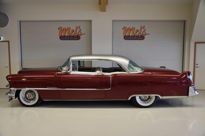 Cadillac Coupe De Ville 2-dr HT 1955-SÅLD!