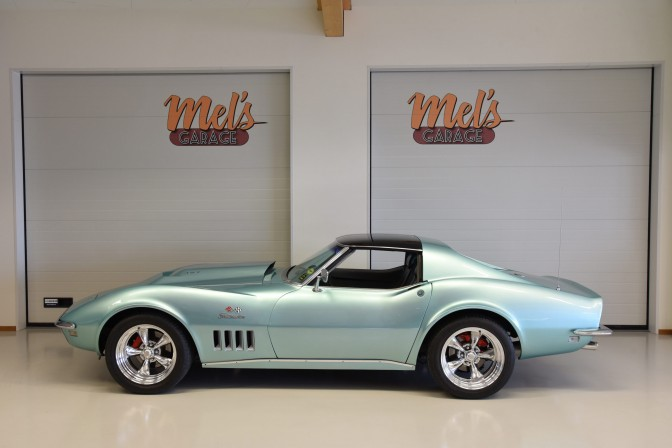 Chevrolet Corvette T-top Sport Coupe 1968-SÅLD!