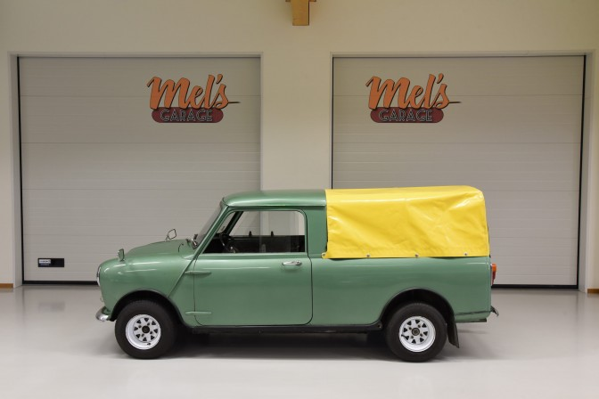 Austin Mini Pick Up 850 1968-SÅLD!