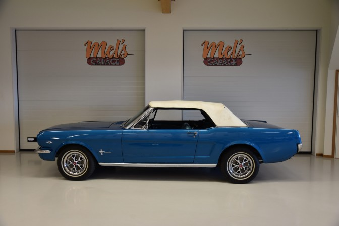 Ford Mustang Convertible 1966-SÅLD