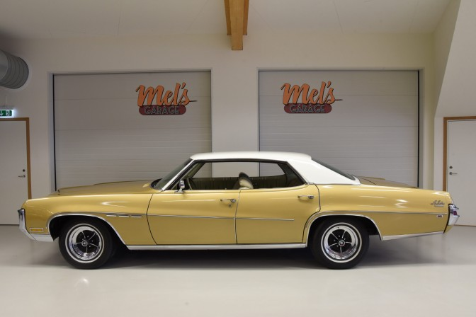 Buick Le Sabre Custom 4-dr ht 1970-SÅLD!
