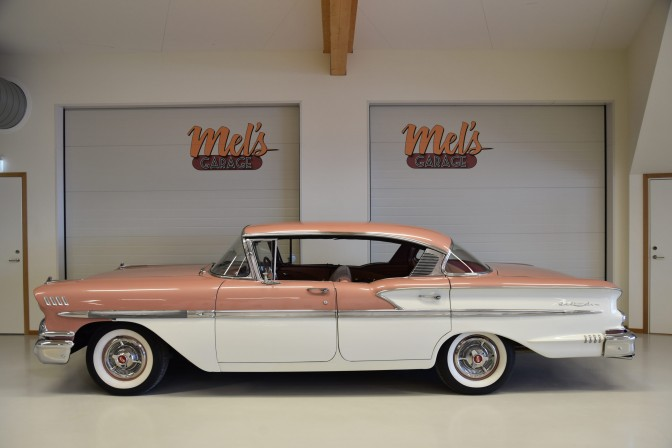 Chevrolet Bel Air 4-dr ht 1958-SÅLD!
