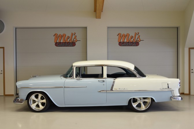 Chevrolet Bel Air 2-dr Sedan 1955-SÅLD!