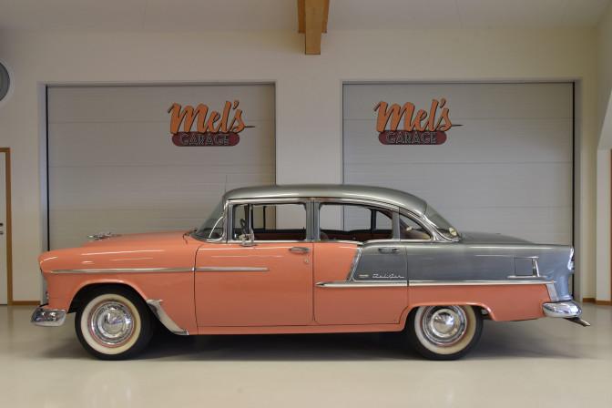 Chevrolet Bel Air 4-dr Sedan 1955-SÅLD!