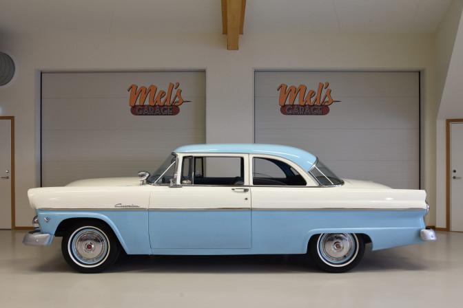 Ford Customline 2-dr Sedan 1955-SÅLD!
