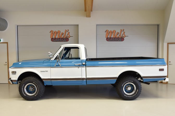 Chevrolet K10 4X4 Custom Pick Up 1972-SÅLD!