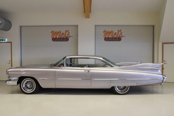 Cadillac Serie 62 2-dr HT Coupe 1959-SÅLD!