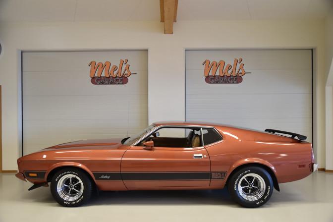 Ford Mustang Mach 1 1973-SÅLD!