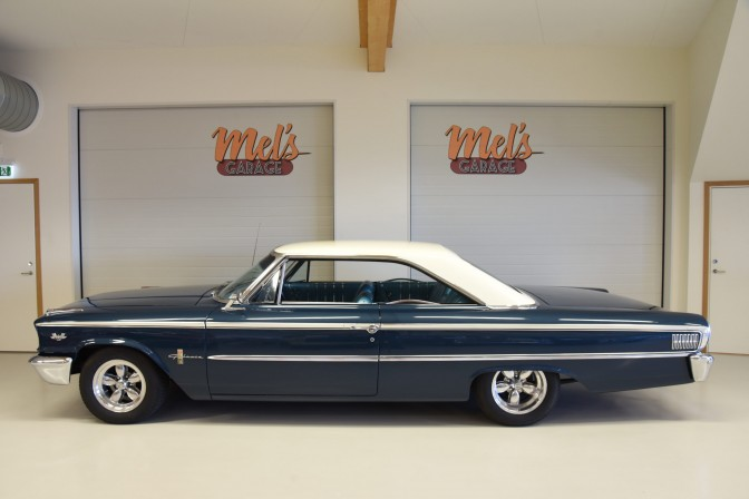 Ford Galaxie 500 XL 2-dr ht Fastback 1963½-SÅLD