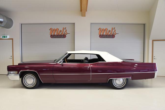 Cadillac De Ville Convertible 1970-SÅLD!