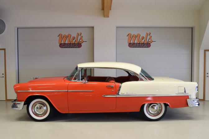Chevrolet Bel Air 2-dr ht 1955-SÅLD!
