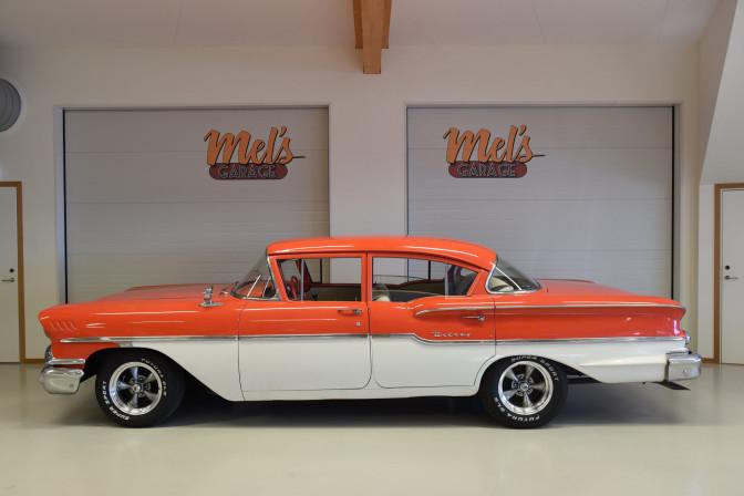 Chevrolet Delray 4-dr Sedan 1958-SÅLD!