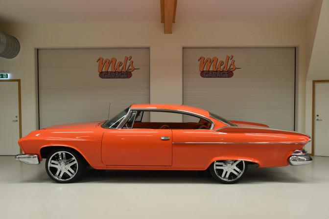 Dodge Pioneer 2-dr ht Custom 1961-SÅLD!