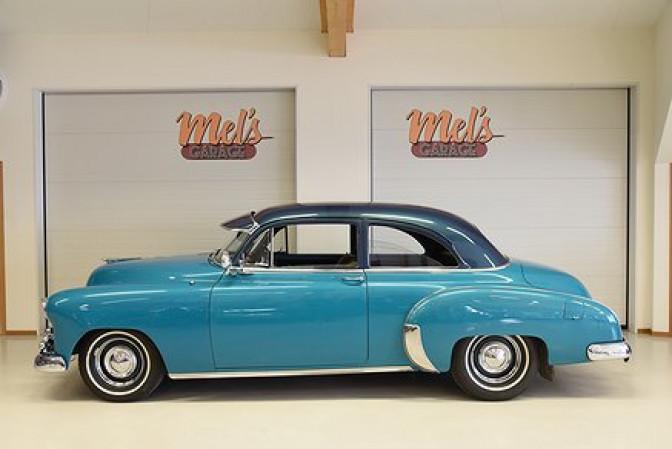 Chevrolet Styleline Special 2-dr Sedan 1949-SÅLD!