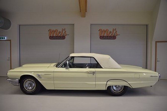 Ford Thunderbird Convertible 1965-SÅLD!