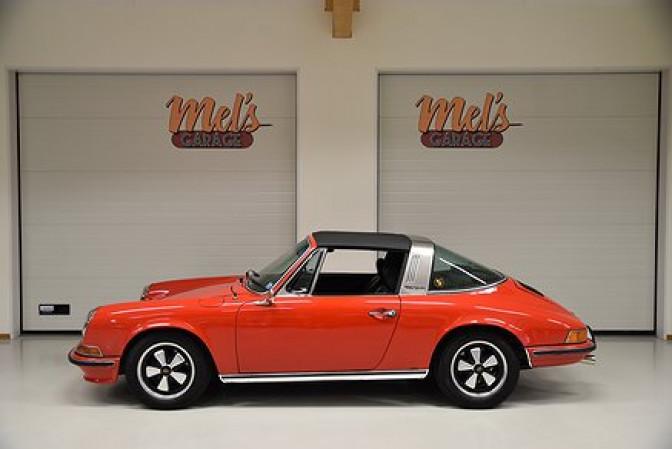 Porsche 911 T Targa 2.4 Ölklappe 1972-SÅLD!